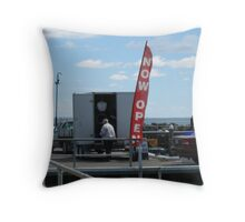 Mussels for Sale Throw Pillow