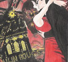 Moulin Rouge  by HolyDemonKnight