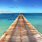 Beachport Jetty Panorama by Steve Chapple
