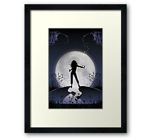 Moonlight Effect Framed Print