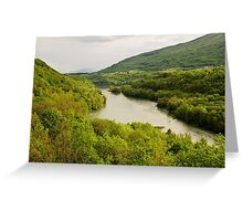 Springtime on the Rhone valley Greeting Card