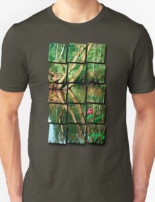 Lonely flower guarding the stream | landscape photography T-Shirt