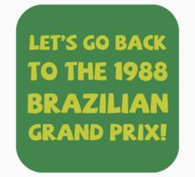 Brazil 1988 sticker by superlicense