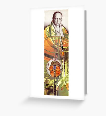 M Blackwell - Modern Breakthroughs in Science... Greeting Card