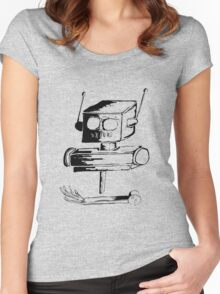 lend a hand Women's Fitted Scoop T-Shirt