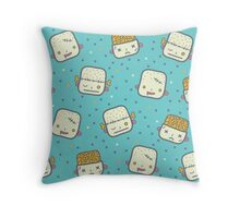 We love brains! Throw Pillow
