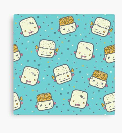 We love brains! Canvas Print