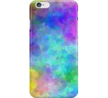 Pastel Rainbow Confetti iPhone Case/Skin