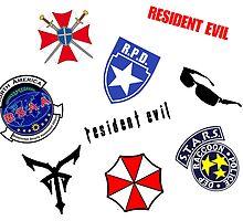 Resident Evil Symbol Pattern by Tvrs01001