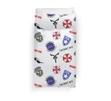 Resident Evil Symbol Pattern Duvet Cover