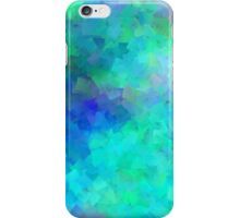Pastel Blue and Green Confetti iPhone Case/Skin