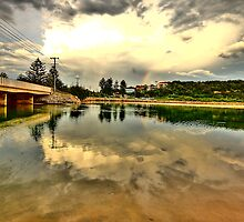 Captured Reflections - Narrabeen Lakes - The HDR Series by Philip Johnson