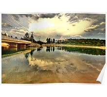 Captured Reflections - Narrabeen Lakes - The HDR Series Poster