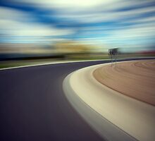 Driving at speed by John Jovic