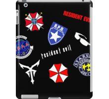 Resident Evil Symbol Pattern iPad Case/Skin