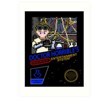 NINTENDO: NES DOCTOR HORRIBLE  Art Print