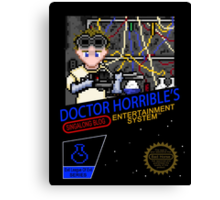 NINTENDO: NES DOCTOR HORRIBLE  Canvas Print
