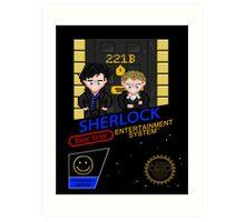 NINTENDO: NES SHERLOCK Art Print