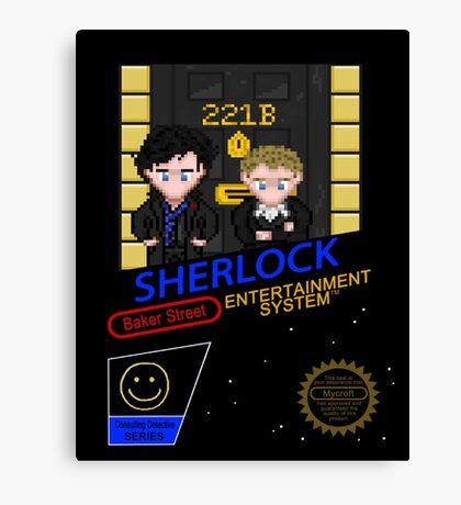 NINTENDO: NES SHERLOCK Canvas Print