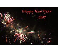 Happy New Year 2009 Photographic Print