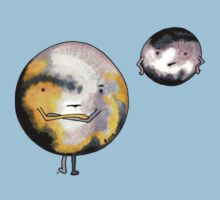 Pluto & Charon by Immy