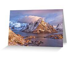 Reine, Norway Greeting Card