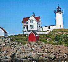 Nubble Lighthouse by MDossat