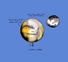 Pluto & Charon (with words) by Immy