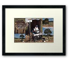 NSW Mail Framed Print