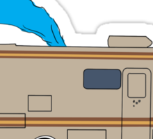 The Crystal Ship Sticker