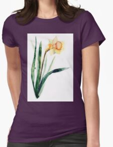 watercolor flower narcissus T-Shirt