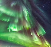Calendar 2015 - Northern lights by Frank Olsen