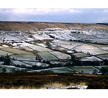 View Across Rosedale Photographic Print