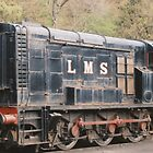 LMS Diesel Shunter. by Edward Denyer