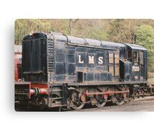LMS Diesel Shunter. Canvas Print