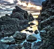 Hartland Slabs #1, Devon, England by Cherrybom