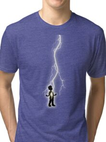 With One Magic Word... Tri-blend T-Shirt