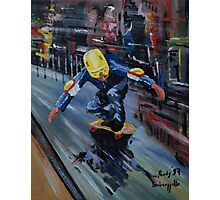 Skate boarder Photographic Print