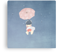 Biys& Girls Collection No.1 Girl from the Sky Canvas Print