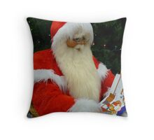 Ho Ho Ho....Merry Christmas. Throw Pillow