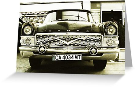 Old Russian Limo by john0