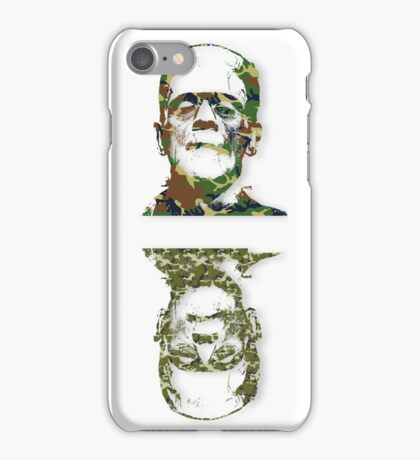Well Camouflaged Frankenstein iPhone Case/Skin