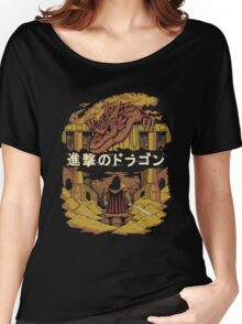 Attack on Dragon  Women's Relaxed Fit T-Shirt