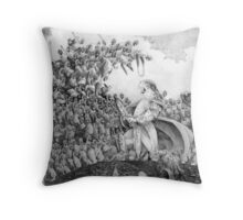 80-Watt's Last Stand Throw Pillow
