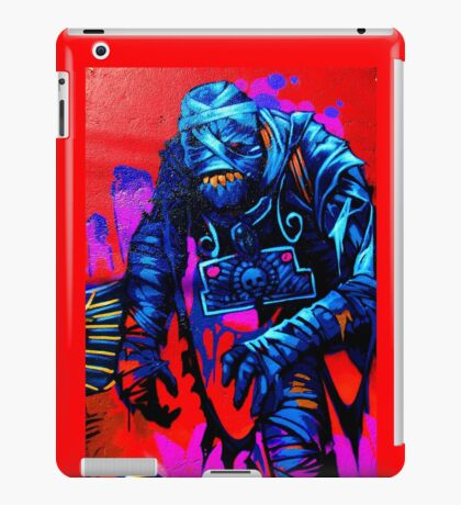 Found Mummy Graffiti iPad Case/Skin
