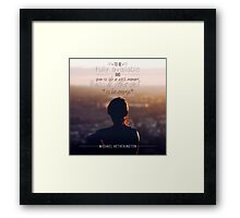 Be Empty Framed Print