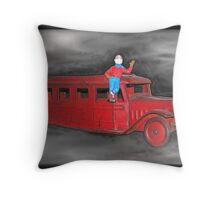 It's Howdy Doody Time Throw Pillow