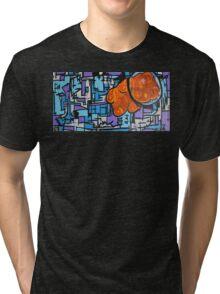 Astronaut Gummy Bear Tri-blend T-Shirt