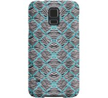 Sneuvelnation - zebra blue Samsung Galaxy Case/Skin