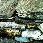 Flat Slate Rock by Monica Vanzant